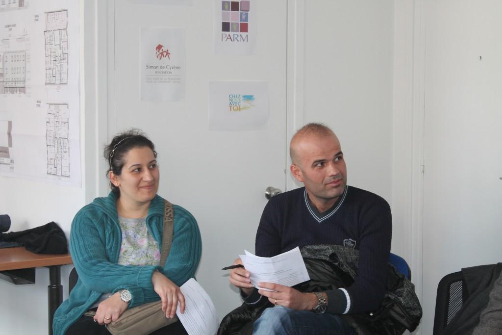 En 2015, la mobilisation de toute la communauté FLS qui a permis le logement de 4 familles irakienne réfugiées!
